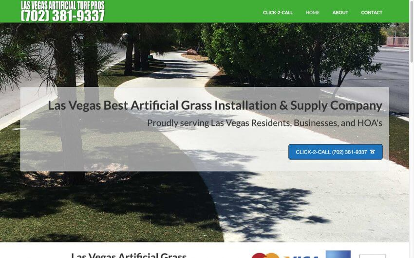 Las Vegas Artificial Turf Pros