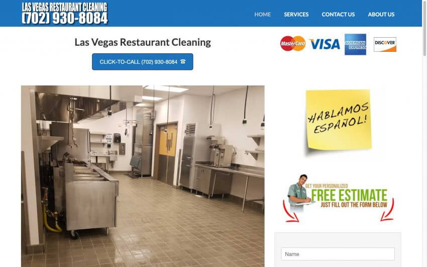 Las Vegas Restaurant Cleaning