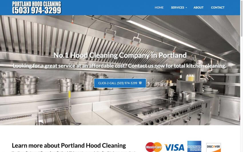 Portland Hood Cleaning