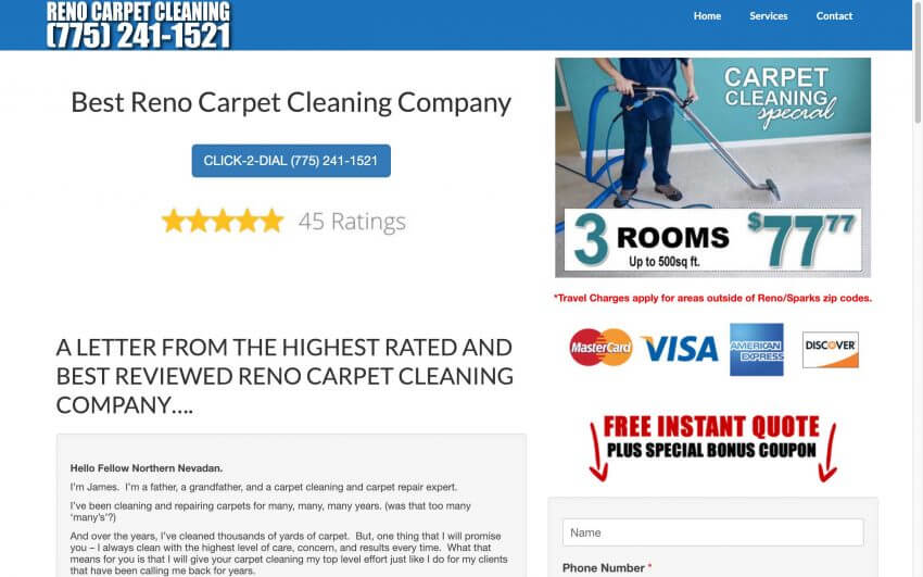 Reno Carpet Cleaning