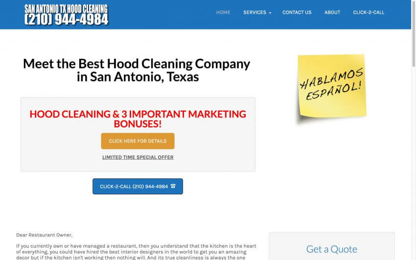 San Antonio Hood Cleaning