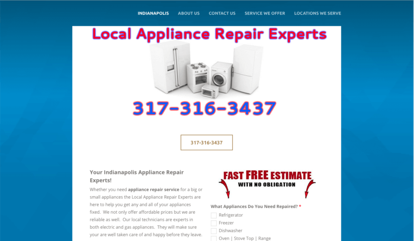 Appliance Repair Indianapolis