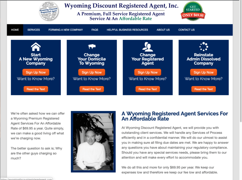 Wyoming LLC Creation by Wyoming Registered Agent Services