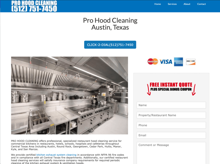Austin Hood Cleaning Company | Pro Hood Cleaning