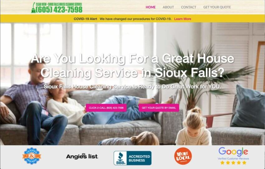 Sioux Falls House Cleaning