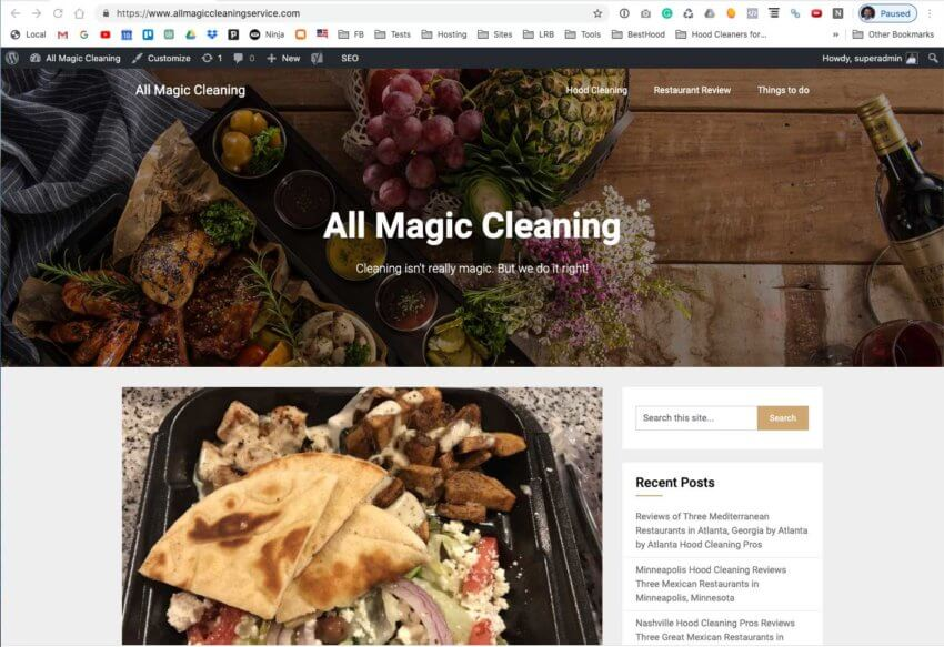 All Magic Cleaning Service