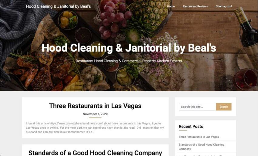 Beals Janitorial Services